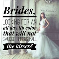 perfect lips on your wedding day