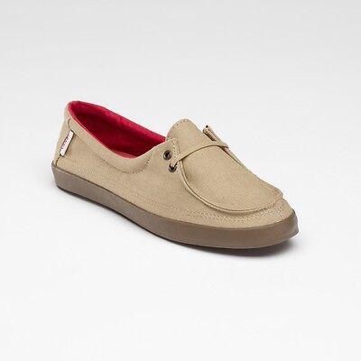 Vans Off The Wall Damen Surf Rata Lo Hanf Khaki Braun Schuhe Größe 10.5 ()