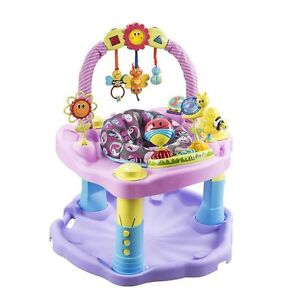 Pink Bumbly Evenflo Exersaucer - Gently Used $65 OBO