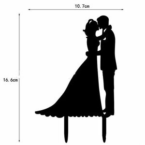 pair model cake decorating toppers