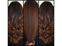 Promotion Price full head RUSSIAN HAIR Extensions I tip Micro ring Keratin pre Bonds European hair