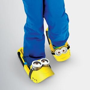 "NEW: MINION ""OUTER EDGE"" Despicable Me 12"" Snow Kix (Shoe)-"