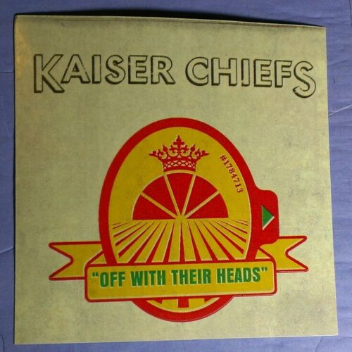 KAISER CHIEFS OFF WITH THEIR HEADS BOARD CASE AMP STICKER
