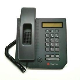 Polycom CX300 Office Desk IP Phone Microsoft Lync USB Deskphone