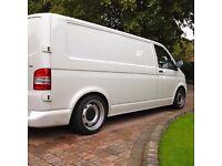 Volkswagen transporter T5 T6 banded steel wheels,genuine 17inch, 5x120