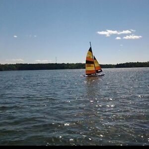 Hobie cat 16 with trailer *reduced