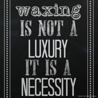 Body waxing starting from $10