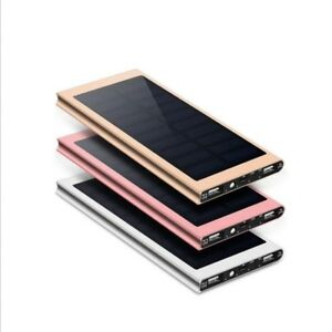 30000 mAh battery bank with solar charger  for your phones+