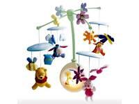 Winnie the Pooh crib mobile
