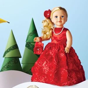 """NEW: Newberry 18"""" Christmas Doll - Noelle Holly"""