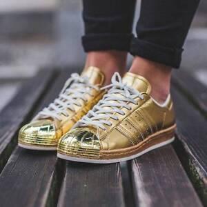 Adidas Superstar 80s Metallic Gold Sneaker US 10 Brisbane City Brisbane North West Preview
