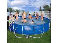 15ft bestway swimming pool new