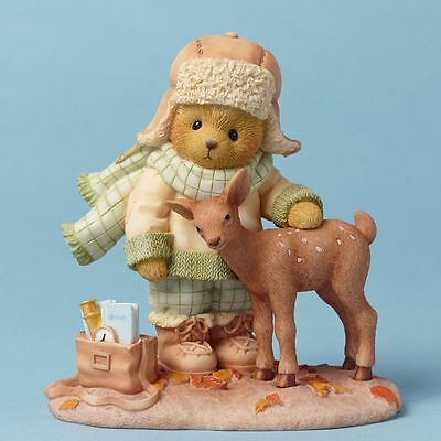 CHERISHED TEDDIES 4042746 C.J. Friends At First Sight Deer NIB