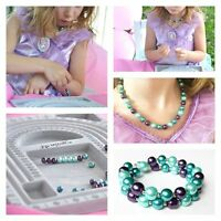 Mermaid Princess Beading Birthday Party for Girls 5, 6, 7 and up