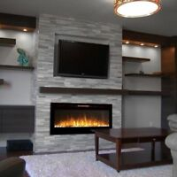 FIREPLACE MAKEOVER   by stone veneer      $699  only   !!!!