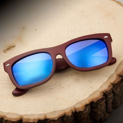 Earth Wood Portsmouth Sunglasses - Red (Sunglasses Portsmouth)