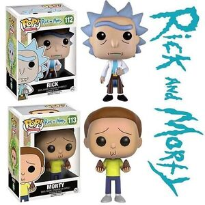 Rick and Morty Funko Pop Vinyl - First Series