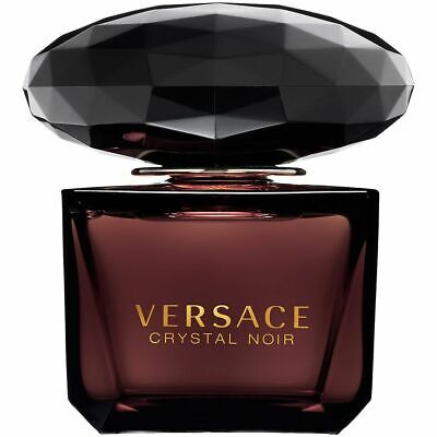 Versace CRYSTAL NOIR EDT Spray 90ml NEW *SEE DETAILS *FREE P&P