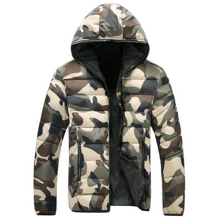 herren camouflage daunenjacke winterjacke wintermantel jacken daunen jacke m 4xl eur 28 99. Black Bedroom Furniture Sets. Home Design Ideas