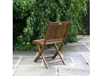 4 x Folding Chair BillyOh Hampton Eucalyptus Wood Folding Chairs