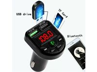 Bluetooth Wireless FM Transmitter Car Kit 5.0 Chip Handsfree LED Display