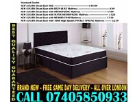 BRAND NEW Double Single King Size Dlvan Bed WITH MATTRESS . Excello