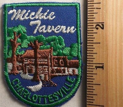 MICKIE TAVERN CHARLOTTESVILLE VIRGINIA PATCH (TRAVEL, SOUVENIR)