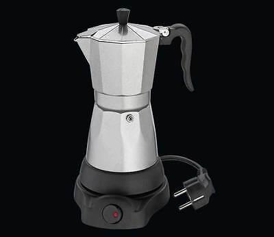 Cilio Espressokocher Classico elektrisch für 6 Tassen Aluminium online kaufen