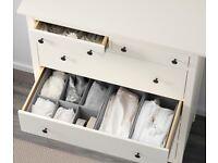 Like new Ikea Hemnes White 6-drawer £120