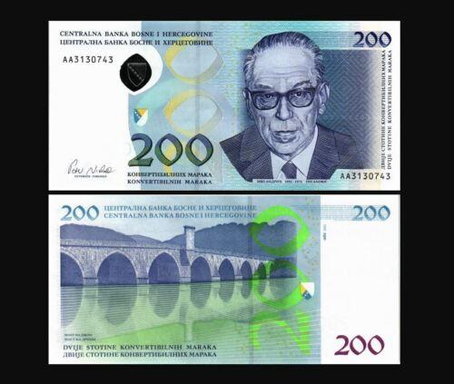 BOSNIA & HERZEGOVINA 200 MARAKA 2002 YEAR P 71 UNC