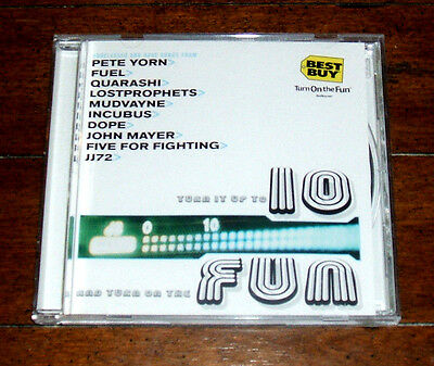 CD: V/A - Best Buy Turn It Up To 10 Columbia 2001 Unreleased Live Demo Ten