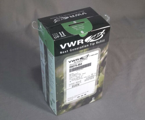 Pack-1344 Pipet Tip Refill 0.1-10ul VWR Next Generation # 89079-464