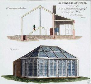 Victorian Era Greenhouse Plants Nursery Plans On Cd