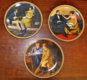 Norman Rockwell Collector Plates St. John's Newfoundland image 3