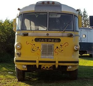 1948 AFC Brill intercity Bus conversion, Hippy bus from the seve