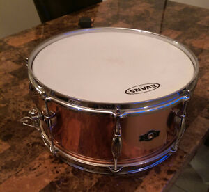 "George Way ""Elkhart"" 14x6.5 copper snare"