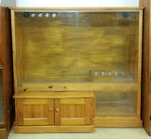 No 6 Timber reptile cabinet enclosure snake lizard dragon gecko Lowood Somerset Area Preview