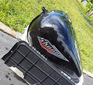 1996 Honda Shadow VT1100C Fuel / Gas Tank& Fuel Cap with Key