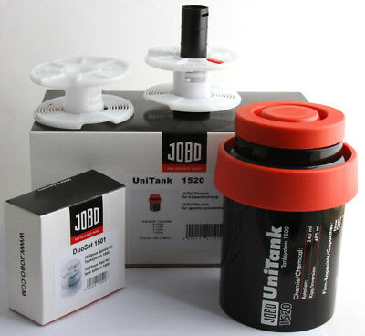 Brand new JOBO 1500 Series 1520  2x Reels 1501 for 120/35mm processin- Film tank