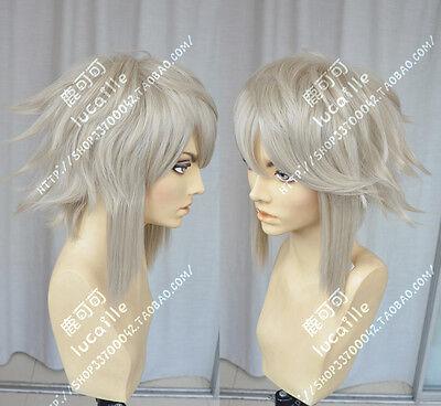 Fire Emblem Kamui Short male Costume Cosplay Anime Wig +CAP - Male Anime Costume