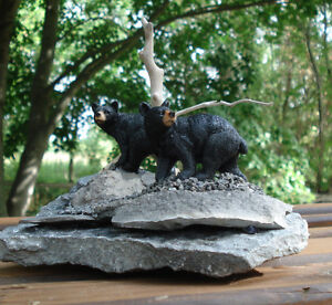 Hand Crafted Bears 3-D Table Sculpture Kingston Kingston Area image 2