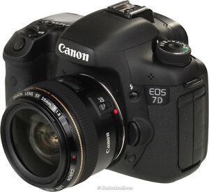Canon 7D DSLR camera Excellent Condition + accessories