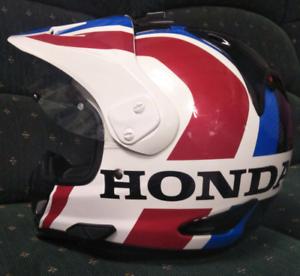 Arai XD-4 adventure helmet Honda Africa Twin
