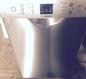 BOSCH STAINLESS LAVE VAISSELLE DISHWASHER 18 POUCE SPE53U55UC