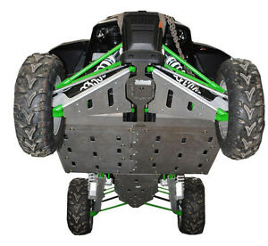 Ricochet 8-Piece Skid Plates, Arctic Cat WildCat - ATV TIRE RACK