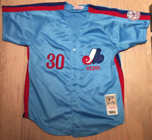 Chemise XXL 50 EXPOS de Montreal Tim Raines 1982 all star game