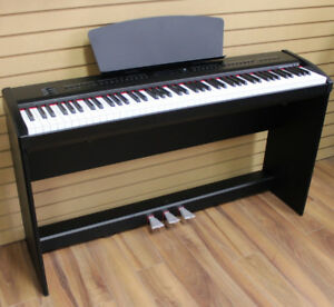 Digital Piano 88 Weighted Keys 3 Pedals P-65 BRAND NEW