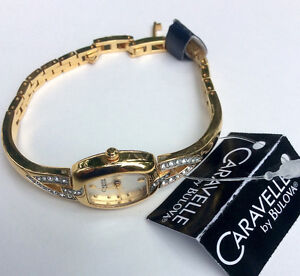 New with tag, Caravelle by Bulova (45L79) Crystal Bangle Women's Peterborough Peterborough Area image 3