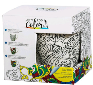 Creative & Personalized Coloring Coffee Mug. Never used