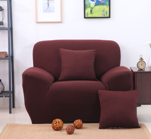 Home Chair Loveseat Sofa Cover Stretch Elastic Slipcover for